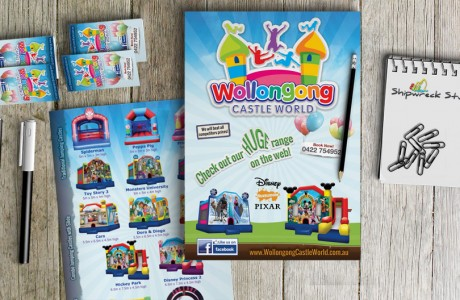 Brochures and Business Cards designed to match the theming of their new website